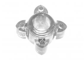 Прозрачное эрекционное кольцо Rings Screw