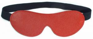 Маска двухсторонняя BDSM Арсенал из натуральной кожи, красная, OS