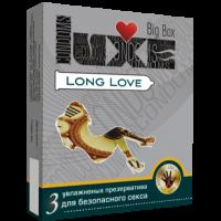 Презервативы Luxe №3 Big Box Long LoveLuxe, пролонгирующие