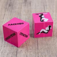 Кубики для любовных игр «Девушки», 2 шт.