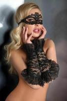 Перчатки LivCo Corsetti Fashion gloves model 13, Чёрный, S-L