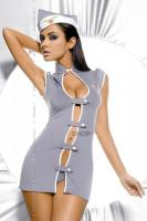 Ролевые костюмы Obsessive Stewardess, Серый, L/XL